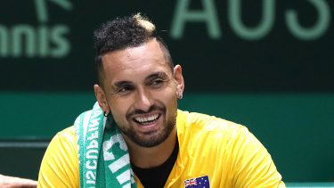 Nick Kyrgios has put his money where his mouth is.