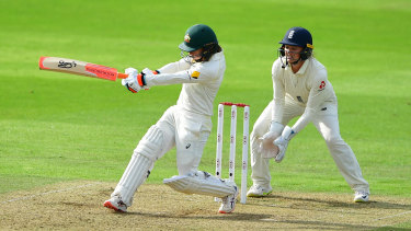 Haynes was in control throughout her innings.