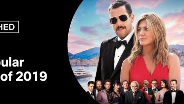 Netflix's top 10 list of 2019 releases in Australia.