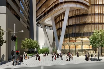The new buyers of 200 George Street, Sydney were keen to know it ESG credentials