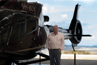 John Wagner has offered his company's Wellcamp Airport in Toowoomba as a potential quarantine facility.