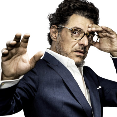 """""""I'm always the outsider, fighting to be mainstream,"""" says Vince Colosimo."""