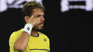 Stan Wawrinka didn't hold back when speaking to the media.