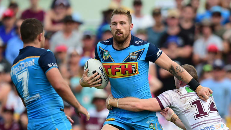 Doing it tough: The Titans need Bryce Cartwright to perform and news he is struggling will only add to their concern.