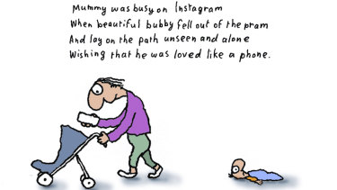 The Michael Leunig cartoon at the centre of the controversy.