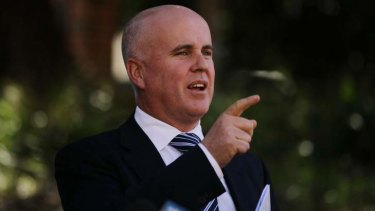 """We have a cultural issue,"" says recently-departed NSW education minister Adrian Piccoli."