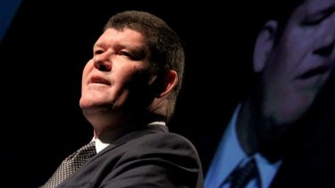 Billionaire businessman James Packer is the largest shareholder of Crown Resorts.