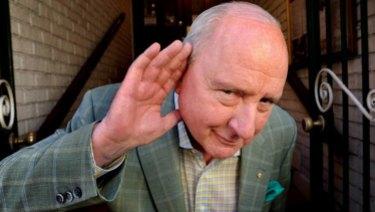 Alan Jones is always listening to his audience.