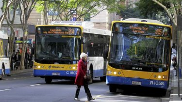 Translink's real-time data on Brisbane City Council bus services was affected.