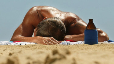 Men were more likely to be diagnosed with skin cancer than women, the study found.