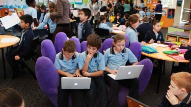 The report into the digital divide strongly links digital skills to education.