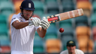 Alastair Cook made a double century in the Boxing Day Test.