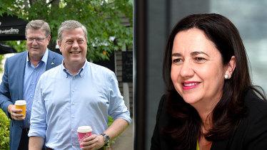 Both LNP leader Tim Nicholls and Labor Premier Annastacia Palaszczuk have kept low profiles since the election.