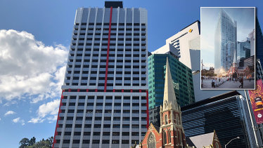 Brisbane City Council has approved the demolition of the Suncorp Tower so a 36-storey tower can be built.