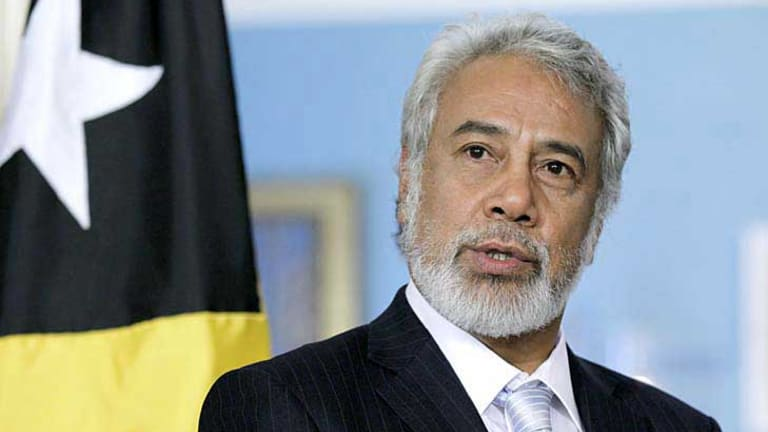 East Timor's former prime minister and president Xanana Gusmao, who has led his country's negotiations, has insisted the gas to be piped to East Timor.