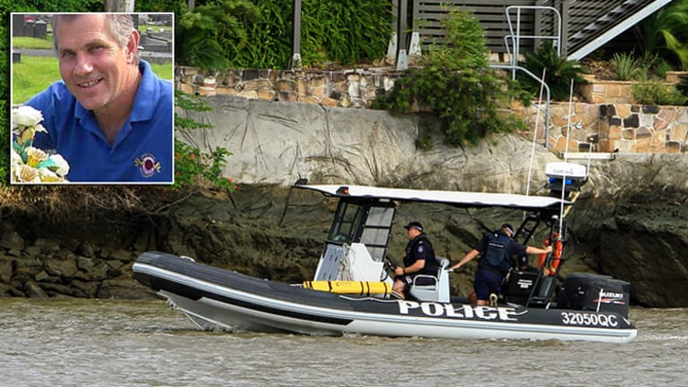 Police continue the search for rower Mark Roome, whose companions found his overturned vessel after they became separated on Wednesday morning.