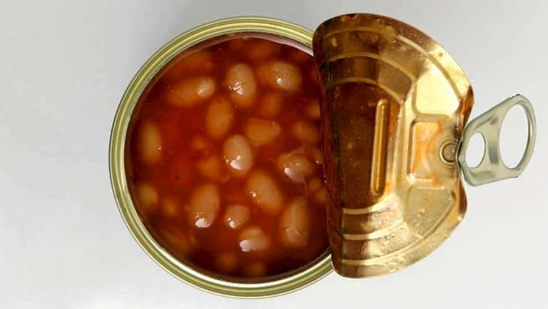 Eating baked beans instead of meat can help you save money.