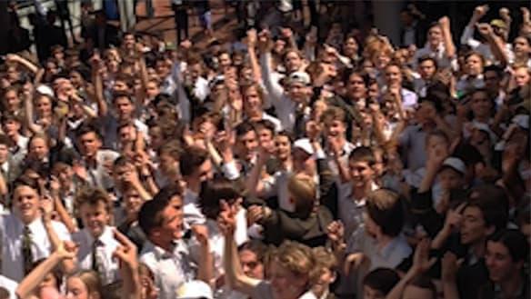 Last year's senior students call for Trinity Grammar headmaster to go