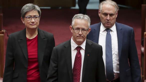 New ACT senator sworn in as controversy around his future continues