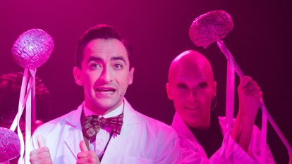 Young Frankenstein jolts Hayes Theatre back to life