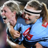 Crowd pack into North Sydney Oval to watch NSW Women defend Origin crown