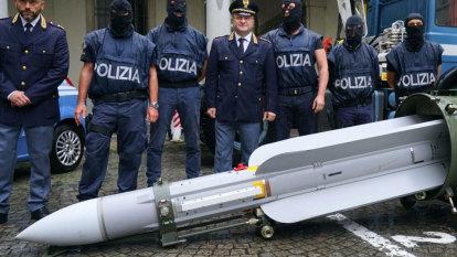 Italian police seize missile in raids on neo-Nazis