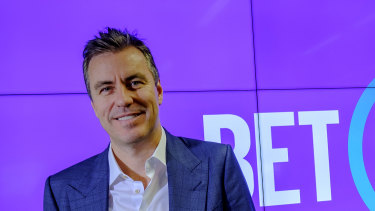 Matt Tripp will stay on as BetEasy's non-executivepresident.