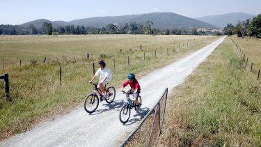 Rural cycling trips along former rail trails are becoming very popular.