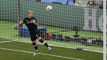 Horror show: Loris Karius had a Champions League final to forget.