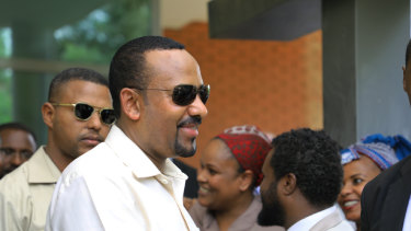 Abiy Ahmed, Prime Minister of Ethiopia, where a number of people are reported killed in a coup attempt.