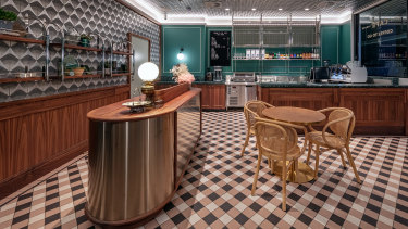 The reception area at The Hotel Steyne.
