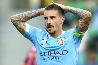 Jamie Maclaren scored City's goal but had several other unsuccessful chances.