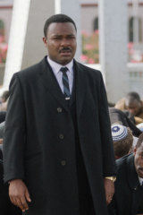 David Oyelowo as Martin Luther King jnr in  Ava DuVernay's Selma.