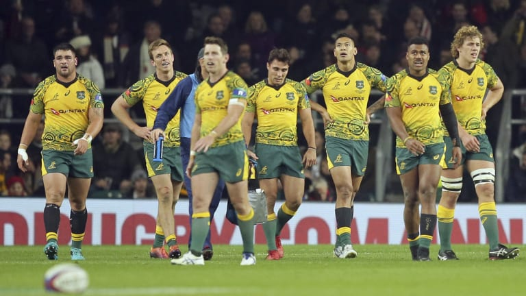 The Wallabies ended the season with strained relations.