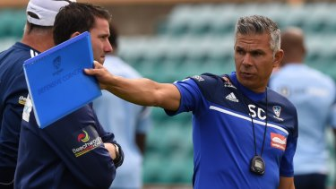 Man in charge: Former Sydney FC star Steve Corica has been named as the club's new head coach.
