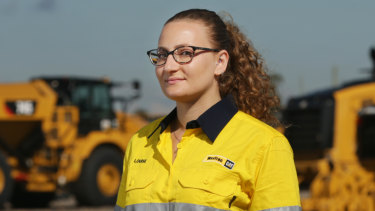 Apprentice trainer Louise Azzopardi.