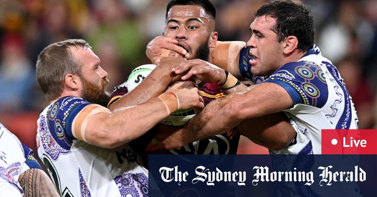 NRL 2021 round 12 LIVE updates: Melbourne Storm thump Brisbane Broncos 40-12 – The Sydney Morning Herald
