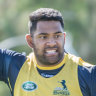 Brumbies prop Sio hopeful of overcoming concussion to play Lions