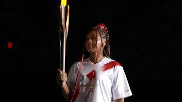 An inspired choice: Naomi Osaka.