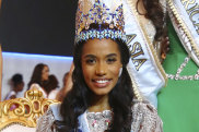 Winner of Miss World 2019, Toni-Ann Singh of Jamaica,.