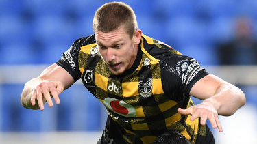 Jack Hetherington won't play for the Warriors against the Panthers.