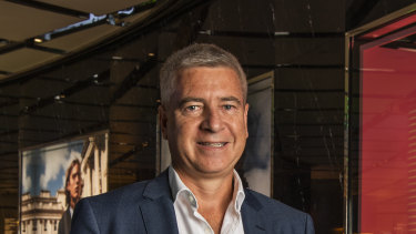 Scentre CEO Peter Allen has told retailers to re-open their stores if they can.
