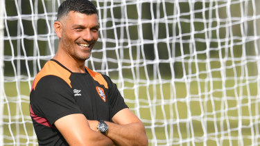 No way back: Aloisi couldn't be convinced to stay on as coach.