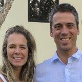 Cassia Cruz and husband Vitor Penalva