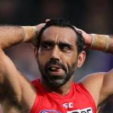 The treatment of Adam Goodes was a source of shame for the AFL community.