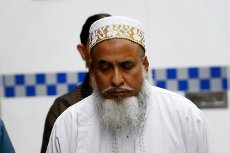 Shabbir Mohammedbhai Vaziri arriving for sentencing in March 2016.