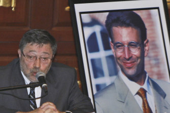 Judea Pearl, father of American journalist Daniel Pearl, who was killed by terrorists in 2002.