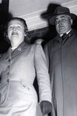 File picture from the 1954 Petrov case involving the disclosure of an Australian spy ring.