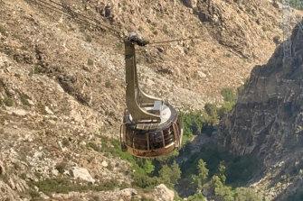 A lift into the mountains.