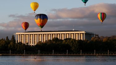 The National Library of Australia is one of Canberra's national institutions to fight against funding cuts.
